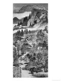Mountain Landscape, after Huang Gongwang 1671 Giclee Print by Daoji Shitao Yuanji 