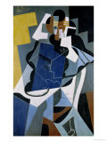 Figure of a Woman, 1917 Impresso gicle por Juan Gris