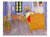La habitación de Van Gogh en Arles, 1889 Lámina giclée por Vincent van Gogh