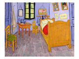 Van Gogh&#39;s Bedroom at Arles, 1889 (Oil on Canvas) Giclee Print by Vincent van Gogh