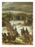 The French Army Crossing the St. Bernard Pass, 20th May 1800, 1806 Giclee Print by Charles Thevenin