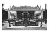 The Chinese Pavilion at the Universal Exhibition of 1889 in Paris Giclee Print by Adolphe Giraudon
