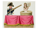 Caricature of the Constitutional Charter of 26th July 1830, circa 1830 Giclee Print