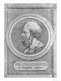 Portrait of Eratosthenes, Giclee Print