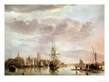 View of Dordrecht Giclee Print by Aelbert Cuyp