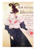 """Poster Advertising """"La Revue Blanche"""", 1895 Lámina giclée por Henri de Toulouse-Lautrec"""
