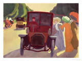 The Road with Acacias, 1908 Giclee Print by Roger de La Fresnaye