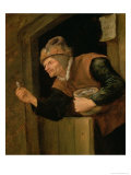 The Miser Giclee Print by Jan Havicksz. Steen