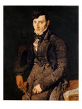 Portrait of Jean-Pierre-Francois Gilibert 1804-05 Giclee Print by Jean-Auguste-Dominique Ingres