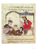 "A Medical Consultation, from ""Book of Kalila and Dimna"" Giclee Print"