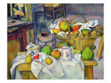 Still Life with Basket, 1888-90 Reproduction procédé giclée par Paul Cézanne