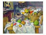 Still Life with Basket, 1888-90 Reproduction procédé giclée par Paul Cézanne