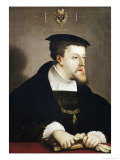 Charles V Holy Roman Emperor Giclee Print by Christoph Amberger