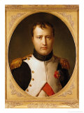 Portrait of Napoleon in Uniform Reproduction procédé giclée par Francois Pascal Simon Baron Gerard