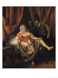 The Wench Giclee Print by Jan Havicksz. Steen