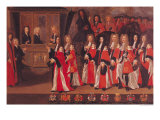 The Entry of Louis of France Duke of Burgundy and Charles Duke of Berry into Toulouse, 1701 Giclee Print by Jean Michel