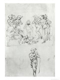 Study for the Adoration of the Shepherds Giclee Print by Leonardo da Vinci