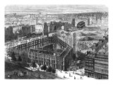 Transformation of Paris: Building in 1861, Between the Streets Neuve-Des-Mathurins Giclee Print by Felix Thorigny