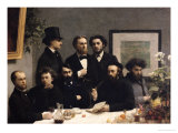 A Corner of the Table, 1872 Giclee Print by Henri Fantin-Latour