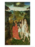 Paradise of the Symbolic Fountain Giclee Print by Dieric Bouts