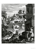 The Importance of Knowing Perspective, 18th Century Giclee Print by William Hogarth