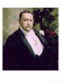 Portrait of Ivan Morosov 1903 Giclee Print by Konstantin A. Korovin