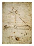 War Machine Premium Giclee Print by  Leonardo da Vinci