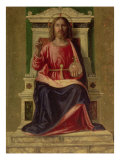 Christ Enthroned, circa 1505 Giclee Print by Giovanni Battista Cima Da Conegliano
