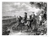 King Frederick II of Prussia Reviewing the Troops in 1778 Giclee Print by Daniel Nikolaus Chodowiecki