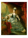 Portrait of Marie Antoinette Queen of France Giclee Print by Jacques Fabien Gautier d'Agoty
