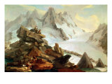The Mountains at Lauteraar, 1776 Giclee Print by Caspar Wolf