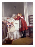 Grandfather's Little Nurse Premium Giclee Print by James Hayllar