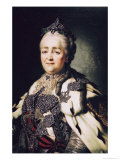 Portrait of Catherine II of Russia Giclee Print by Alexander Roslin
