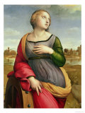 St. Catherine of Alexandria, 1507-8 Reproduction procédé giclée par  Raphael