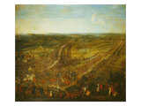 Battle of Fleurus, 1st July 1690 Giclee Print by Pierre-Denis Martin