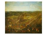 Battle of Fleurus, 1st July 1690 Giclee Print by Pierre-Denis Martin