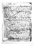 """Last Page of """"A La Recherche Du Temps Perdu"""" Giclee Print by Marcel Proust"""