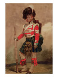 A Soldier of the 79th Highlanders at Chobham Camp in 1853 Giclee Print by Eugene Louis Lami