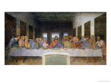 Leonardo da Vinci - The Last Supper, 1495-97 - Giclee Baskı