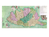 Military Map of Corsica, 1768 Giclee Print