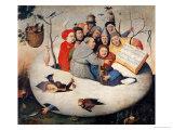 Hieronymus Bosch - The Concert in the Egg Digitálně vytištěná reprodukce