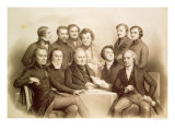 The Provisional Government of 24th February 1848, 1848 Giclee Print by Achille Deveria