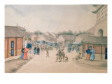 Tsyan-Minh Bridge, from Chinese Sketches, 1804-06 Reproduction procédé giclée par Ivan Alexandrov