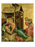 The Nativity, from the Buxtehude Altar, 1400-10 Giclee Print by Master Bertram of Minden