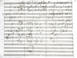 Ludwig Van Beethoven - Score for the 3rd Movement of the 5th Symphony - Giclee Baskı