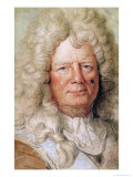 Portrait of Sebastien Le Prestre de Vauban Giclee Print by Charles Le Brun