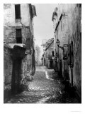 Rue Traversine, from Rue D'Arras, Paris, Between 1858-78 Giclee Print by Charles Marville