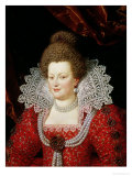 Portrait of Marie de Medici Giclee Print by Scipione Pulzone