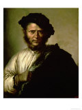 Portrait of a Man, 1640 Giclee Print by Salvator Rosa
