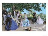 Family Reunion, 1867 Impression giclée par Frederic Bazille